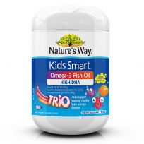 Nature's Way Kids Smart Chewable Omega 3 Fish Oil Trio 180 Pack