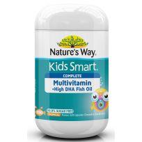 Nature's Way Kids Smart Complete Multi + Fish Oil 100 Capsules