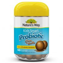 Nature's Way Kids Smart Probiotic Choc Balls 50 Pack