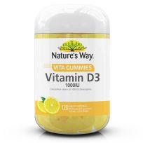 Nature's Way Adult Vita Gummies Vitamin D3 1000IU 120 Pack