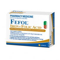 Fefol Iron & Folate 60 Capsules