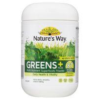 Nature's Way Super Foods Greens Plus Powder 300g