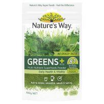 Nature's Way Super Foods Greens Plus Powder 100g