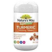 Nature's Way Super Foods Turmeric 1000mg 60 Tablets