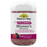 Nature's Way Adult Vita Gummies Women's Multivitamin 100 Pastilles