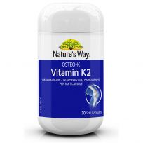Nature's Way Osteo K Vitamin K2 30 Capsules