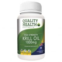 Quality Health Krill Oil 1000mg 60 Capsules