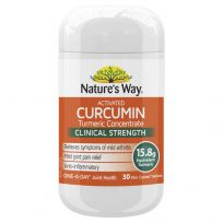 Nature's Way Activated Curcumin 30 Tablets