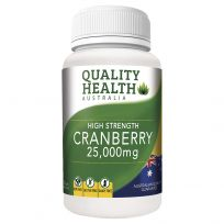 Quality Health Cranberry 25,000mg 60 Tablets