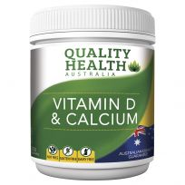 Quality Health Viatmin D & Calcium 300 Tablets