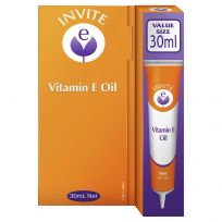 Invite Vitamin E Pure Vitamin E Oil Tube 30ml