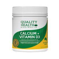 Quality Health Vitamin D & Calcium 130 Tablets