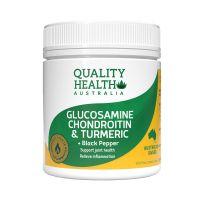 Quality Health Glucosamine Chondroitin & Turmeric 100 Tablets