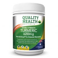 Quality Health Double Strength Turmeric 100 Capsules
