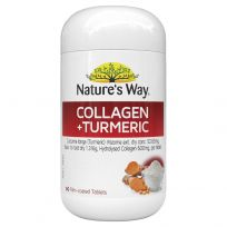 Nature's Way Collagen + Turmeric 60 Tablets