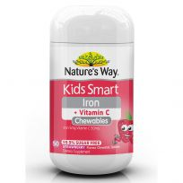 Nature's Way Kids Smart Chewable Iron 50 Tablets