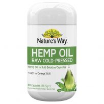 Nature's Way Hemp Oil 60 Capsules