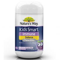 Nature's Way Kids Smart Chewable Immunity Defence 50 Tablets