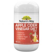 Nature's Way Apple Cider Vinegar Diet 60 Tablets