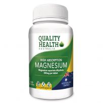Quality Health High Absorption Magnesium 100 Tablets
