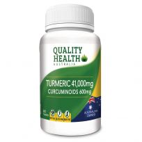 Quality Health Turmeric 41,000mg 60 Tablets