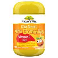 Nature's Way Kids Smart Vita Gummies Vitamin C + Zinc 120 Pastilles