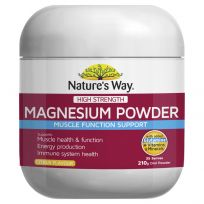 Nature's Way High Strength Magnesium Powder 210g