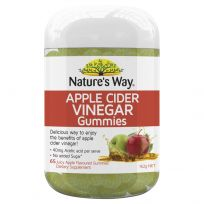 Nature's Way Vita Gummies ACV Apple Cider Vinegar 65 Pack