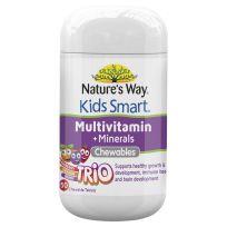Nature's Way Kids Smart Multi + Minerals Trio 50 Tablets