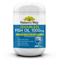 Nature's Way Fish Oil Odourless 1000mg 450 Capsules