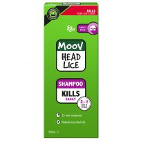 Ego Moov Head Lice Shampoo 500ml