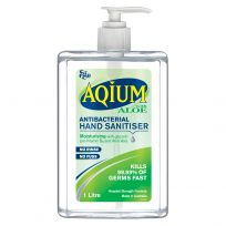 Ego Aqium Hand Sanitiser Aloe 1 Litre