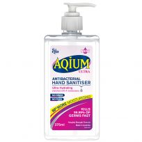 Ego Aqium Hand Sanitiser Ultra Hydrating 375ml