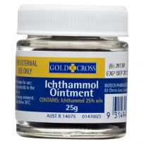 Gold Cross Ichthammol Ointment 25g