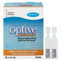 Optive Advanced Lubricant Eye Drops 30 x 0.4ml