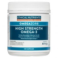 Ethical Nutrients OmegaZorb High Strength Fish Oil 120 Capsules