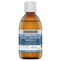 Ethical Nutrients OmegaZorb High Strength Fish Oil Fruit Punch 280ml