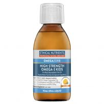 Ethical Nutrients OmegaZorb High Strength Fish Oil for Kids 90ml