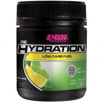 Endura Rehydration Low Carb Fuel Lemon Lime 128g