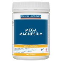 Ethical Nutrients MegaZorb Magnesium Powder Raspberry 450g
