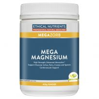 Ethical Nutrients MegaZorb Magnesium Powder Citrus 450g