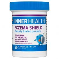 Inner Health Eczema Shield Fridge Free 30 Capsules