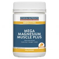 Ethical Nutrients MegaZorb Mega Magnesium Muscle Plus 135g