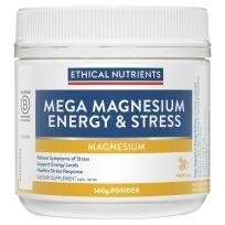Ethical Nutrients Mega Magnesium Energy & Stress Tropical 140g