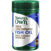 Nature's Own Triple Concentrated Fish Oil Odourless 90 Capsules