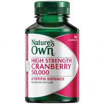 Nature's Own Cranberry 50,000mg 90 Capsules
