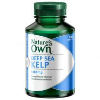 Nature's Own Kelp 1000mg 200 Tablets