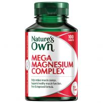 Nature's Own Mega Magnesium Complex 100 Tablets