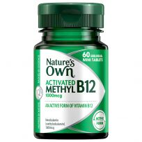 Nature's Own Activated Methyl B12 60 Tablets