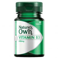 Nature's Own Vitamin B3 500mg 60 Tablets